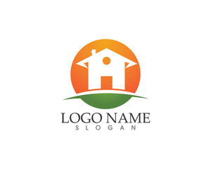Property  and home building logo