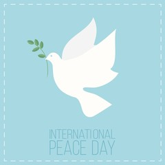 International Day of Peace symbol poster