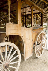 Old Colonial Wagon Cart - Manta - Ecuador