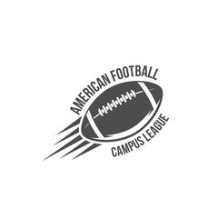 american football badges, logo and labels