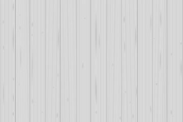 White wood planks background - vector illustration.