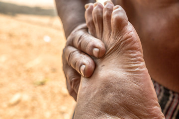 foot massage