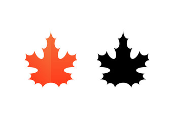 Sign of Maple Leaf