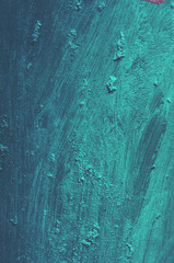Painted turquoise background