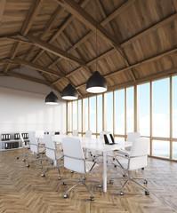 Design studio  in attic