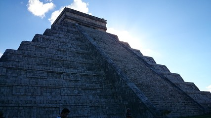 Pirâmide Chichen Itza - Meixo