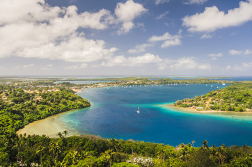 Kingdom of Tonga from above