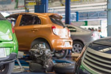 Poster Havana Checking a car at garage