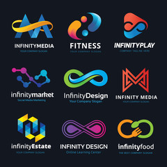 Infinity logo collection