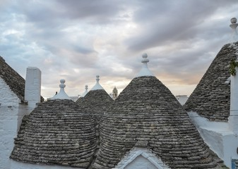 The Trulli of Alberobello, Puglia, Italy, Unesco site