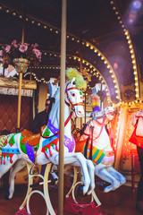 Wall Murals Imagination Luna park and carousel series