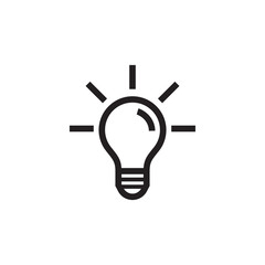 Light Bulb, Idea Icon