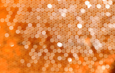 Bokeh background from bees honeycomb. natural