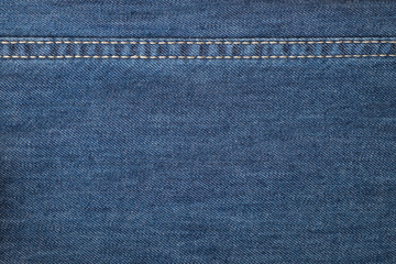 Background made of blue jeans textile