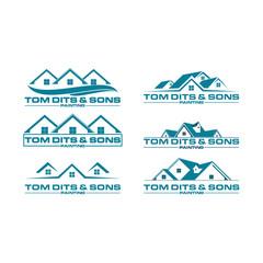 Real Estate Logo Elements