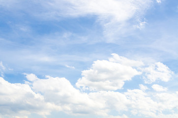 Cloudy with bluesky