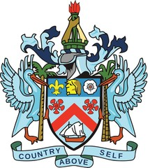 Saint Kitts and Nevis Coat of arm