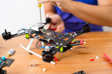 Making of drone