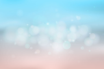 abstract background blue bokeh blur vector
