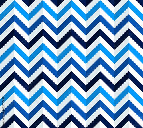 Navy Blue White Chevron Pattern Seamless Texture Background