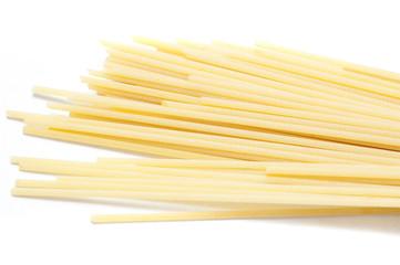 Uncooked Italian spaghetti pasta