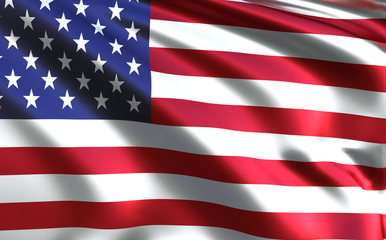 American flag - USA - United States of America