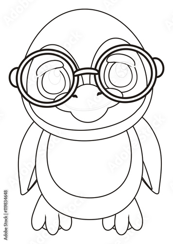 animal profile coloring pages - photo#21