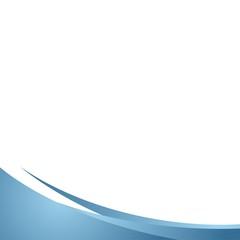 Stylish Blue Wave Background