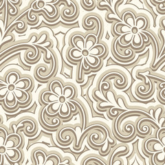 Small flowers, seamless floral pattern