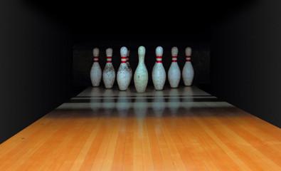 Old Bowling Pins