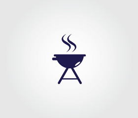 Grill Symbol for Websites and Apps.