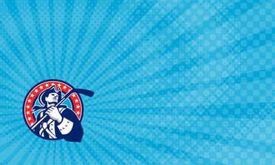 Patriot Ice Hockey Academy Business Card