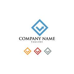 Electronic Technology Comunication Icon Logo Vector