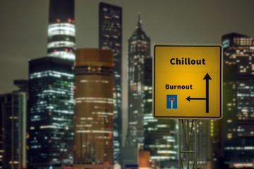 Schild 125 - Chillout