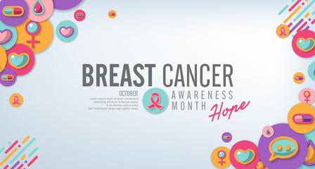 breast cancer awareness symbol concept background,vector illustration