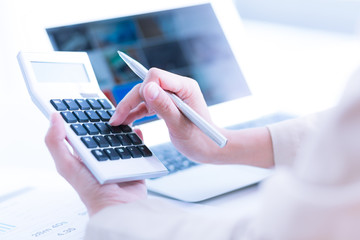 Accounting Calculating Mathematic Economic Finance Working Conce