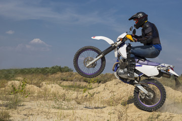 Motocross bike.