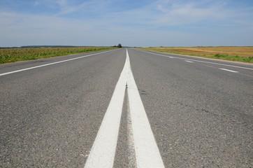 nonurban asphalt road