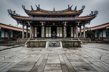 Wall Murals Place of worship Exterior of the Taipei Confucius Temple, in Taipei, Taiwan.