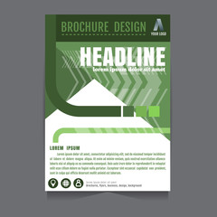 vector brochure poster flyer business creativity abstract a4 pap