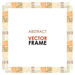 Ethnic vector frame