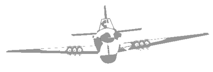 Aircraft In Halftone