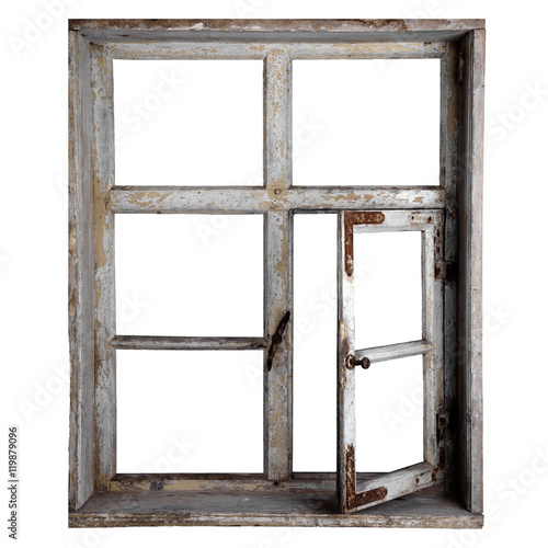altes holzfenster freigestellt zdj stockowych i. Black Bedroom Furniture Sets. Home Design Ideas