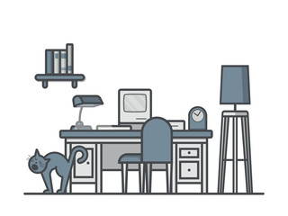 Vector Home Office