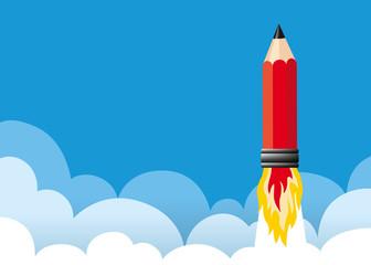 Crayon Fusée - Idée - Présentation