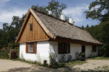 Polska, Łódź- skansen w Ogrodzie Botanicznym-2015