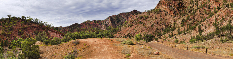 FR Scenic Drive Creek Rocks Road Pan