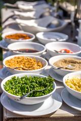 Various Garnish and Seasonings