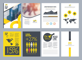 Design layout brochure To be deployed easily.