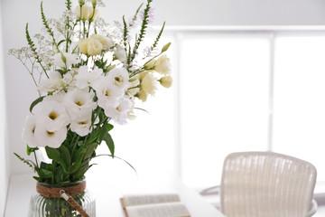 Beautiful flower bouquet, closeup